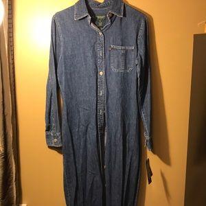 Ralph Lauren, Denim Dress